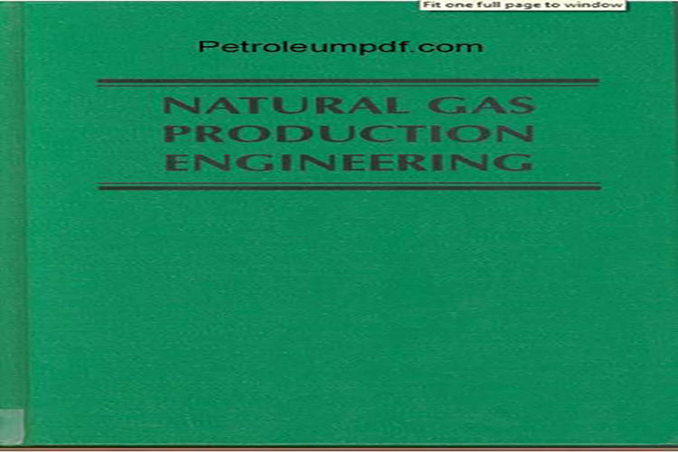 Natural Gas Production Engineering PDF