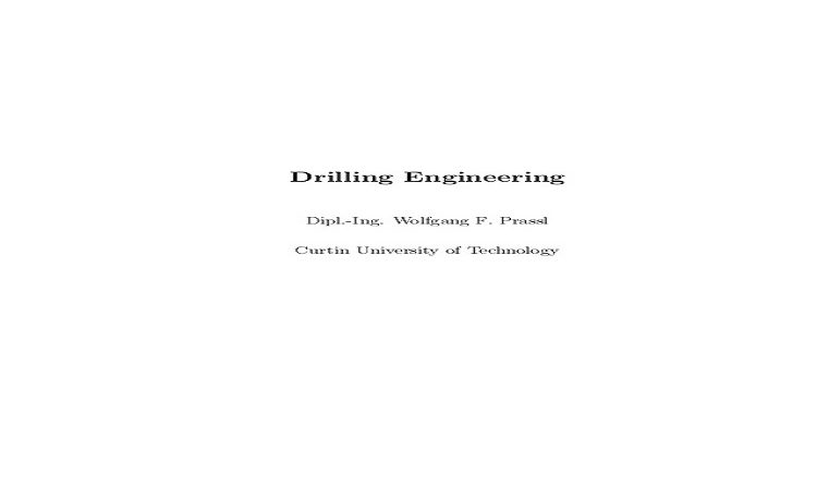 Drilling Engineering Pdf
