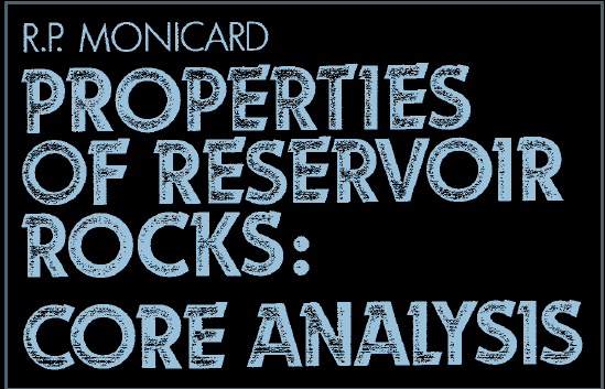 Properties of Reservoir Rocks: Core Analysis Pdf
