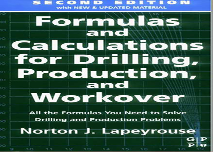 Formulas Calculations for Drilling, Production, Workover PDF