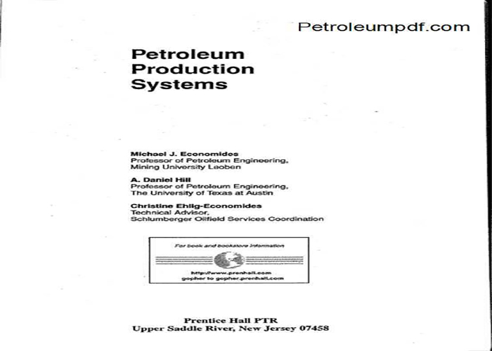 Petroleum Production Systems PDF