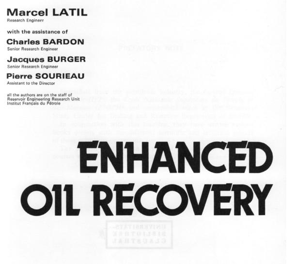 Enhanced Oil Recovery PDF
