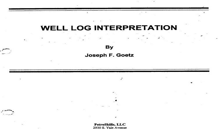 Well Log Interpretation Pdf