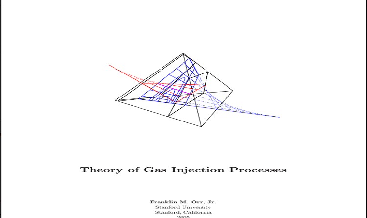 Theory of Gas Injection Processes Pdf