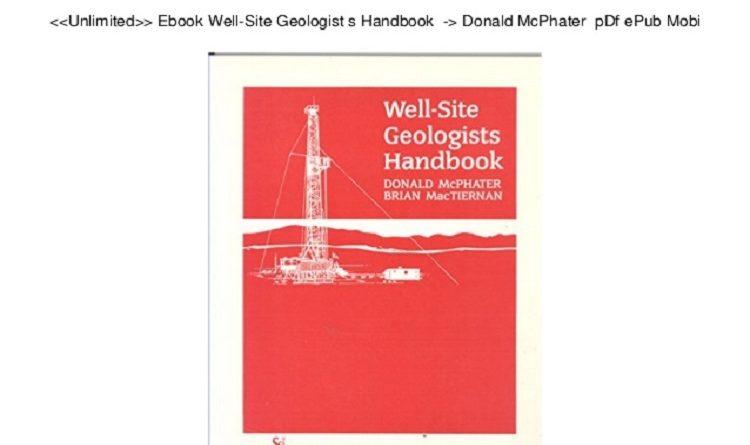 Wellsite Geology Pdf