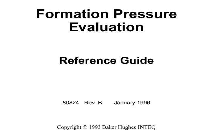 Formation Pressure Evaluation Pdf